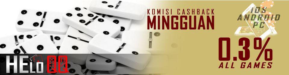 bonus mingguan judi poker online